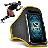 LG T375 Armbands - (Yellow) Universal Sports Running Action Mobile