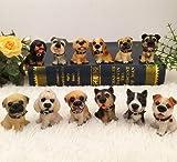 GYN Perros simulación decoración escritorio regalo adornos resina perro animales