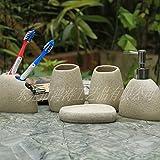 SBWYLT-Cinco piezas de baño set baño baño minimalista suministros cepillo