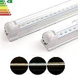 Oubo Tubo Fluorescente 60cm/90cm/120cm/150cm Tubo LED T8G13tubos lámpara fluorescente color