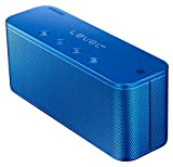 Samsung Original Level Box Mini Wireless Bluetooth NFC Lautsprecher Kompatibel mit iPhone, iPad, iPod, Smartphone, Tablet und MP3 Player - Blau