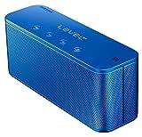Samsung Original Level Box Mini Wireless Bluetooth NFC Lautsprecher Kompatibel mit iPhone, iPad, iPod, Smartphone, Tablet und MP3 Player - Blau