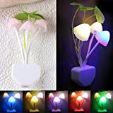Malloom® colorida seta romántica sensor LED Luz de noche Lámpara