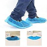 loges® 100 piezas chanclos desechables desechables abrigo zapato cubre Cubrezapatillas