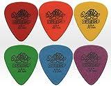 6púas estándar 418Púas, guitarra y bajo
