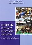 La formación en Dirección de la Producción/Operaciones: El caso de