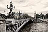 Impresión en madera 130 x 90 cm: Pont Alexandre III