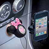 Disney Mickey/Minnie Mouse Digital Car Charger for iPhone/iPod (Minnie Mouse)