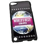 Negro para iPod Touch 5 0968 rosa Worlds Best Scuba