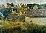 Paul Gauguin Casas en Vaugirard, 1880, Reproducción sobre Calidad 200gsm