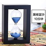kxzzy casa decoraciones adornos reloj de arena creativo regalos, O