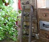 GYN Artesanías de madera creativa escalera hecha a mano para