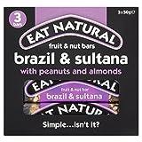 Eat Natural Brasil Nueces, Pasas Y Almendras Bares 3 X