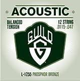 Guild BT L125511.5-47PB Fósforo Bronce Cuerdas/12de cuerdas de guitarra acústica
