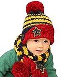 DAYAN Invierno Otoño Caliente para Bebés niños niñas Gorro y
