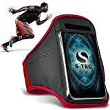 LG T375 Armbands - (Red) Universal Sports Running Action Mobile