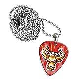 Taurus Zodiac Star Sign Guitarra Pick Necklace Collar (GD)