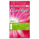 Sin Preocupaciones De Aloe Transpirable Perfumado Protege-Slips 32 Por Paquete