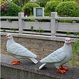 Zll/Paloma jardín resina adornos/simulación animal modelos/parque micro-landscape Esculturas de animales