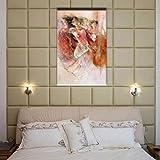 XIAOMINZI Etiqueta Engomada Árbol Cuadro Decorativo Salón Comedor Decoración Mural