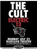 The Cult fotográfico de nachdruck un concierto Posters 40x 30cm