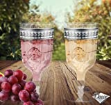 100 Lujo desechable 100 vasos de vino Champagne - Symphony