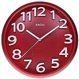 Reloj de pared analógico estilo moderno - Esfera y bisel