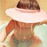Chianrliu ajustable champú de baño proteger suave tapa sombrero para