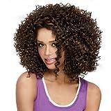 GSP-corto sintéticas de las pelucas peluca rizada para las mujeres