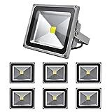 Pack of 7,30W Blanco frío SMD IP65 iluminación proyector proyector