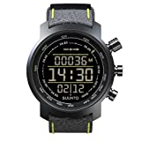 Suunto Elementum Terra Leather Watch - Black/Yellow by Suunto