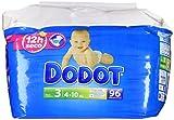 Dodot - Pack pañales bebés - Talla 3, 4-10 kg