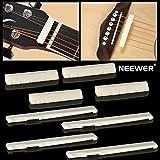 Neewer® 4 Sets De Guitarra Acústica De 6 Cuerdas Puente