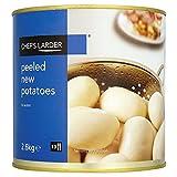 Chef Despensa Peladas las nuevas patatas en agua 2.6kg