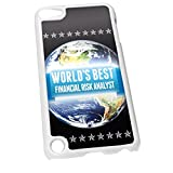 Blanco para iPod Touch 5 1168 azul Worlds Best riesgo