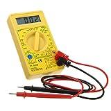 DT-830B Pantalla multímetro digital Volt Ohm Meter amperímetro.