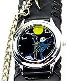 Gothic Punk Relojes difíciles Reloj de pulsera con anillo de