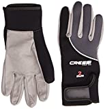 Cressi Tropical - Guantes de buceo, color negro, talla XL