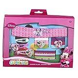 Disney Minnie Mouse cinta de pelo y Clips