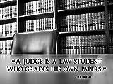 Póster de abogado Póster de Ley legal Póster de H.