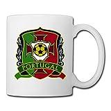 xj-cool Portugal logotipo de Euro 2016ocio Recreo Taza de cerámica