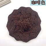 Sombrero de mujer invierno Skullies Beanies tejidos tapa suave caliente