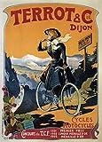 Terrot & Cie Biciclette c1895, Ciclismo Reproducción sobre Calidad 200gsm