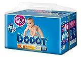 Dodot - Pañales infantiles, talla 4, 9-15 kg - hasta