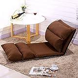 Dngy*algodón perezoso persona creativa sofa cama tatami plegado único preside