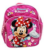 Mochila pequeña - Disney - Minnie Mouse en vestido rojo