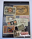 billetes para coleccionistas: alemán Imperio 10 diferentes Notgeld Serienscheine
