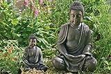 Escultura decoración de jardín Estatua Buda meditando 70 cm estilo