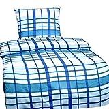 Microfibra-Juego de cama, 135cm x 200cm-3piezas con sábana bajera (90-100cm
