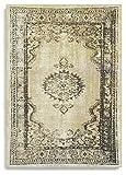 Barefoot - Alfombra persa, de estilo moderno vintage, 140 x